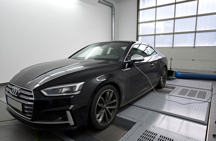 SPEED-BUSTER Audi S5 Performance Upgrade with 420 hp and 595 Nm