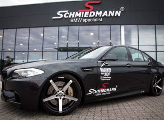 BMW 550i featuring 532 hp, 763 Nm and a BILSTEIN B16